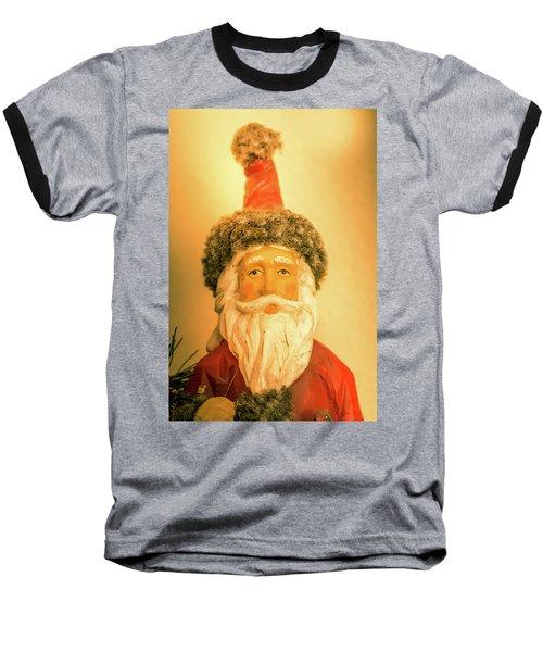 Santa Is Watching Baseball T-Shirt