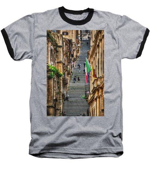 Santa Maria Del Monte Baseball T-Shirt by Patrick Boening