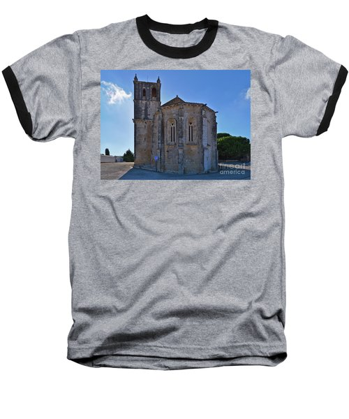 Santa Maria Do Carmo Church In Lourinha. Portugal Baseball T-Shirt