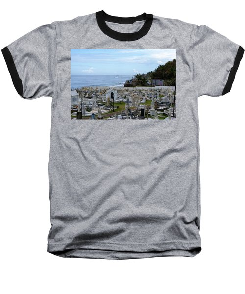 Santa Maria Magdalena De Pazzis Cemetery, Old San Juan Baseball T-Shirt