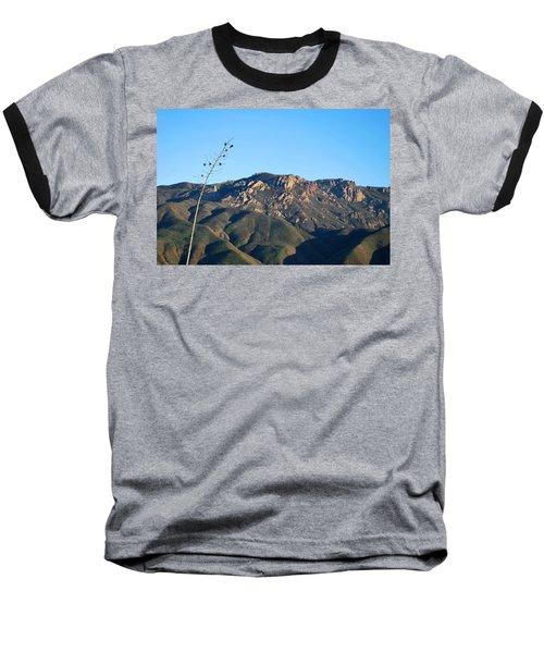Baseball T-Shirt featuring the photograph Santa Monica Mountains View  by Matt Harang