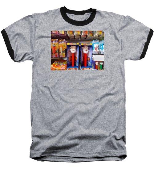 Santa Pez Baseball T-Shirt