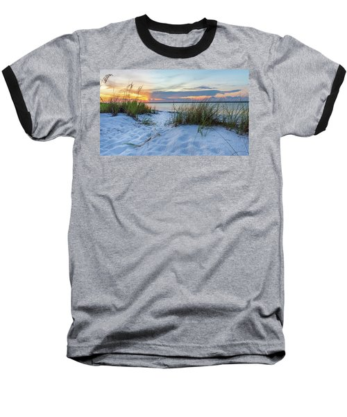 Santa Rosa Sound Sunset Baseball T-Shirt