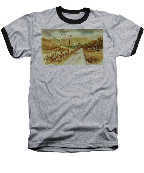 Baseball T-Shirt featuring the painting Santa Teresa County Park California Landscape 1 by Xueling Zou