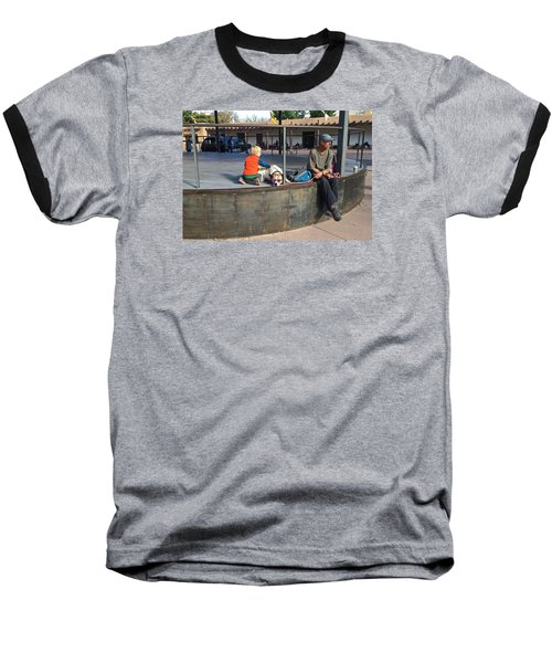 Baseball T-Shirt featuring the photograph Sante Fe Chill by Brenda Pressnall