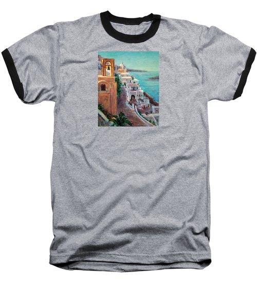 Hotels Of Santorini Baseball T-Shirt