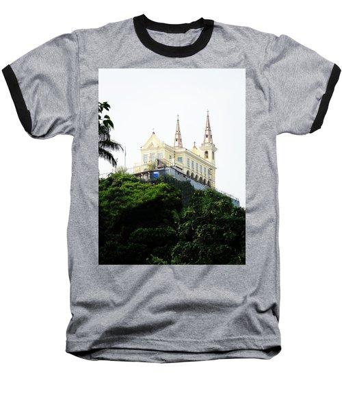 Santuario Da Penha Baseball T-Shirt