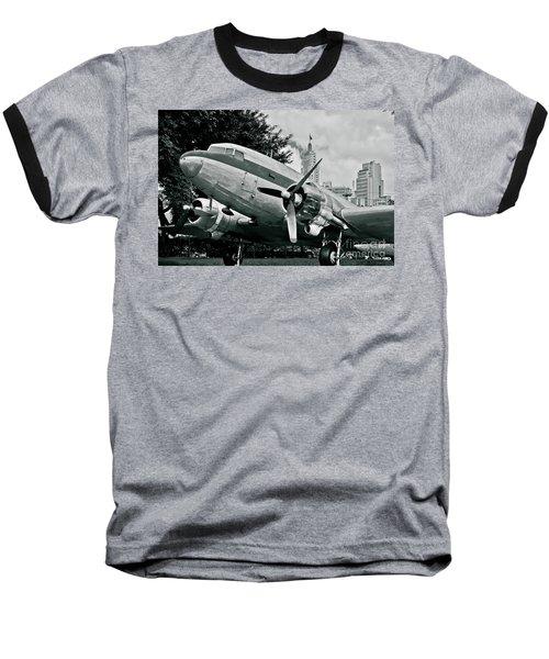 Classic Aircraft Douglas Dc-3 Baseball T-Shirt