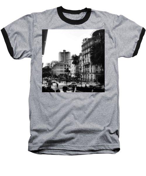 Sao Paulo Downtown #pracaantonioprado Baseball T-Shirt