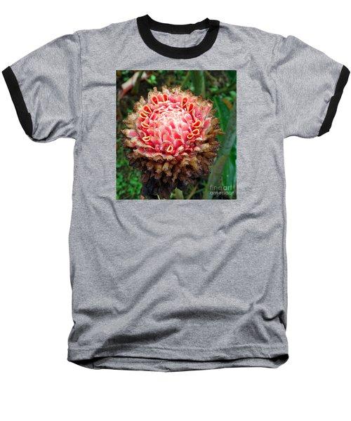 Sao Tome Blosssom Baseball T-Shirt