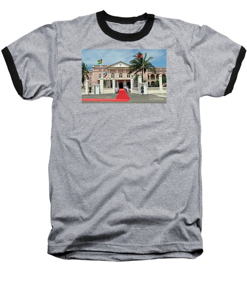 Sao Tome City Hall Baseball T-Shirt