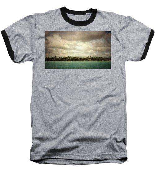 Saona Island , Santo Domingo Baseball T-Shirt