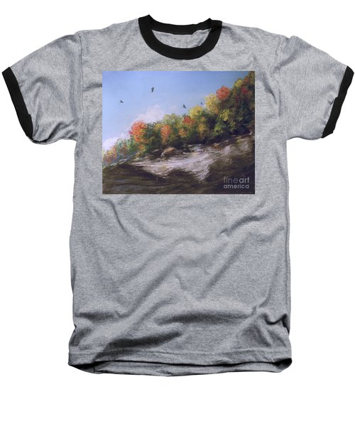 Soaring Over The North Rim, Autumn Baseball T-Shirt