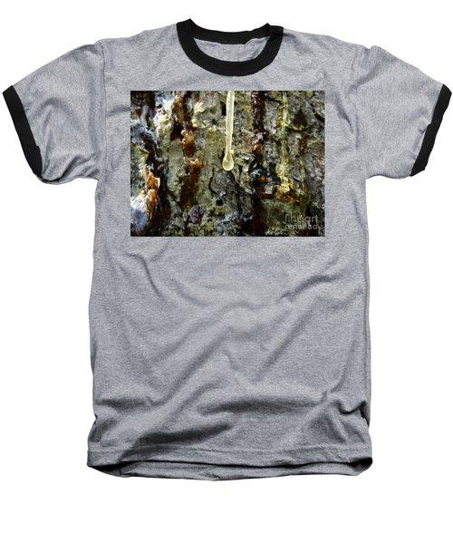 Baseball T-Shirt featuring the photograph Sap Drip by Robert Knight
