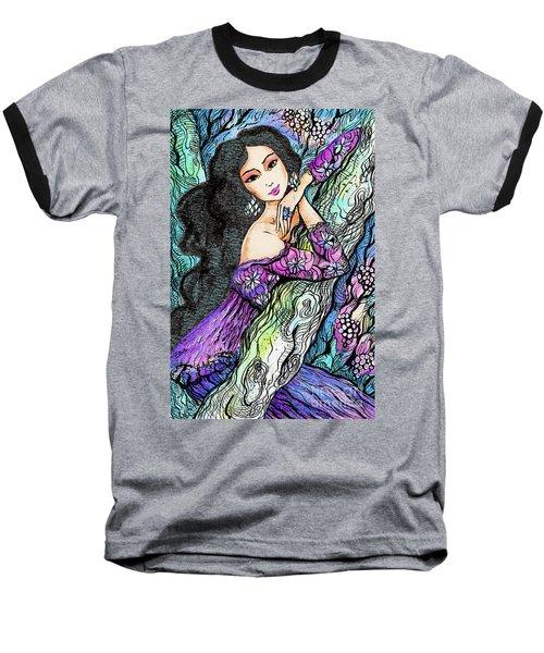 Sapphire Forest Baseball T-Shirt