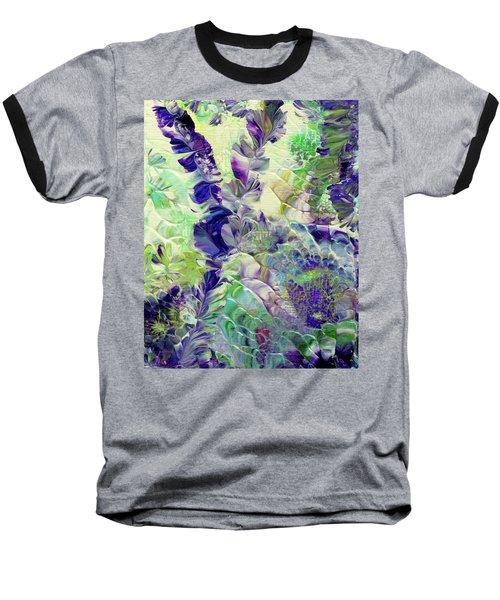 Sapphire Violet Baseball T-Shirt