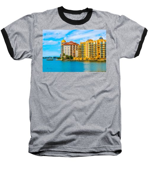 Sarasota Architecture Baseball T-Shirt