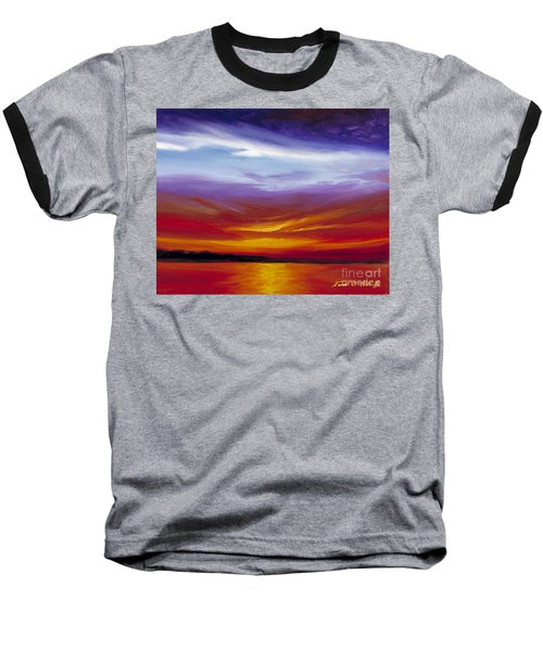 Sarasota Bay I Baseball T-Shirt