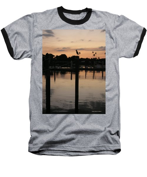 Sarasota Sunset1 Baseball T-Shirt