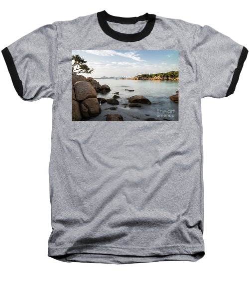 Sardinian Coast Baseball T-Shirt by Yuri Santin