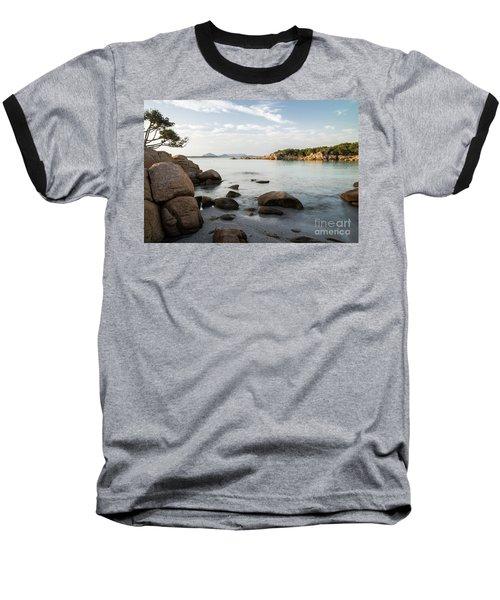 Sardinian Coast Baseball T-Shirt