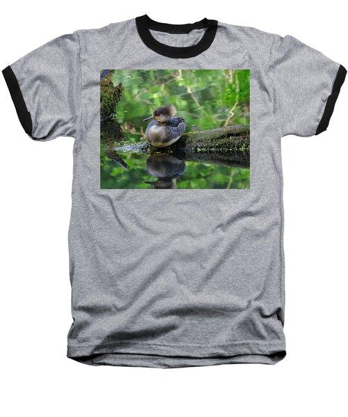 Sassy Girl Baseball T-Shirt by I'ina Van Lawick