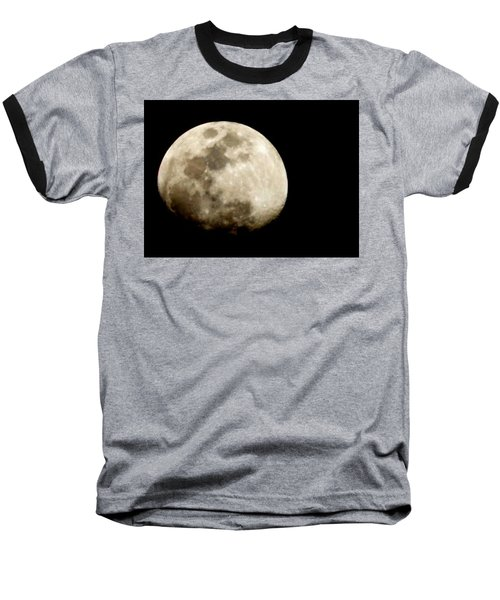 Satellite Serenade  Baseball T-Shirt by Paulo Guimaraes