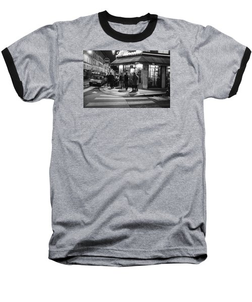Saturday Evening In Paris Baseball T-Shirt by Hugh Smith