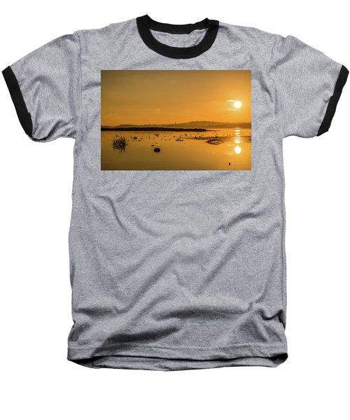 Saturday Morning Along The Estuary  Baseball T-Shirt by Martina Fagan