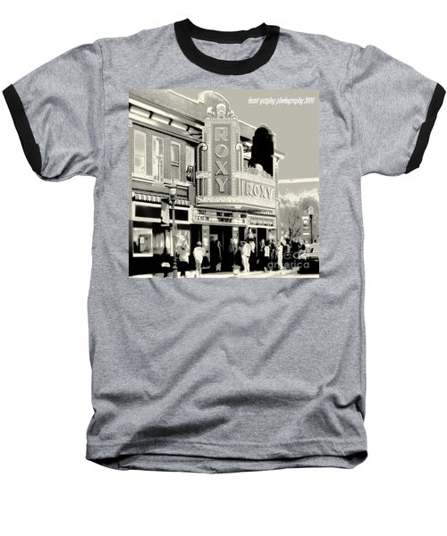 Saturday Night At The Roxy Baseball T-Shirt