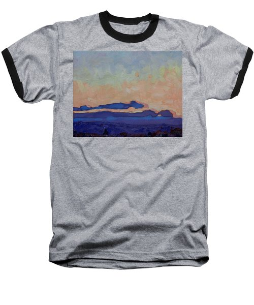 Saturday Stratocumulus Sunset Baseball T-Shirt