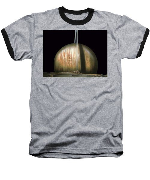 Saturn Rising Baseball T-Shirt