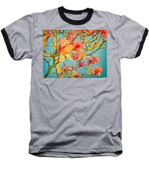 Saucer Magnolia Baseball T-Shirt