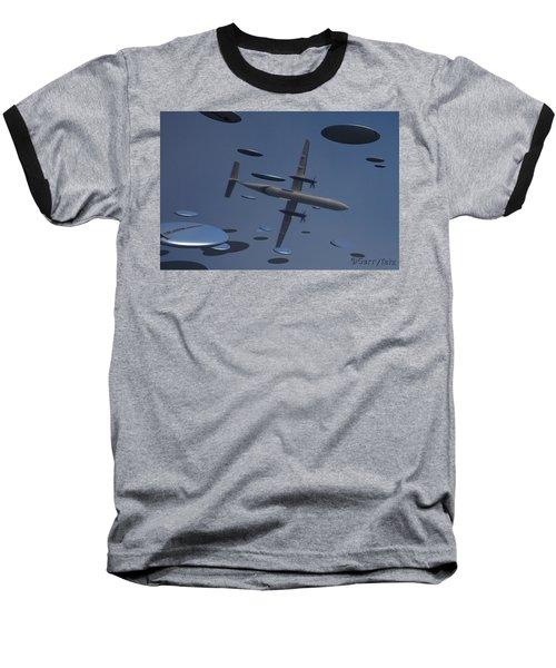 Saucers Baseball T-Shirt