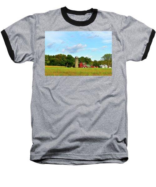 Sauer Farm, Mt. Marion Baseball T-Shirt