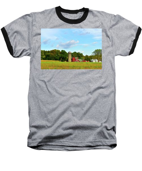 Sauer Farm, Mt. Marion Baseball T-Shirt