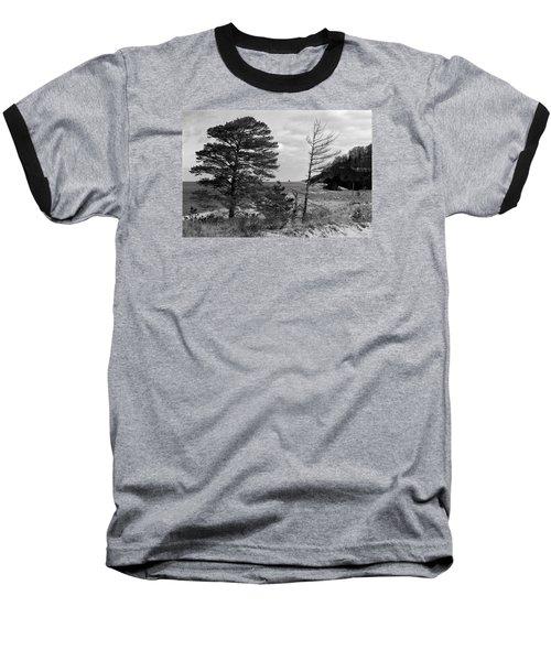 Saugatuck State Park In November Baseball T-Shirt