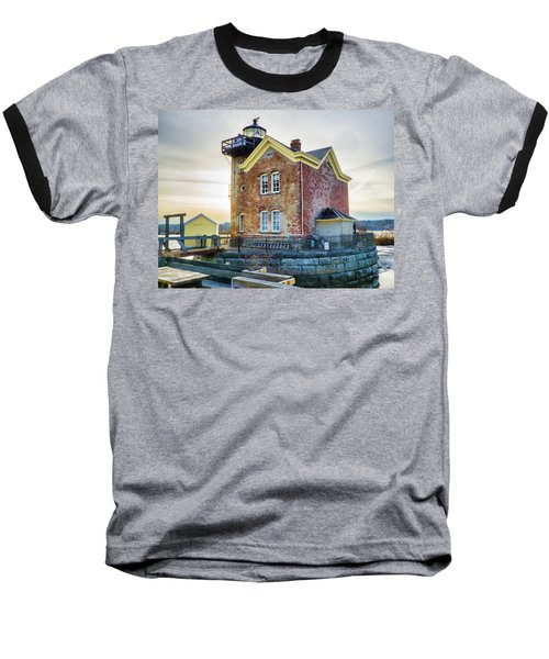 Saugerties Lighthouse Baseball T-Shirt