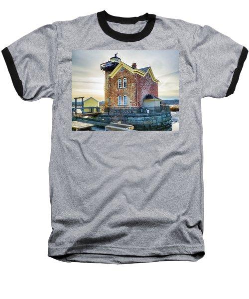 Saugerties Lighthouse Baseball T-Shirt