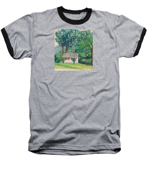 Sauna At Murray Hollow Baseball T-Shirt by Fred Jinkins
