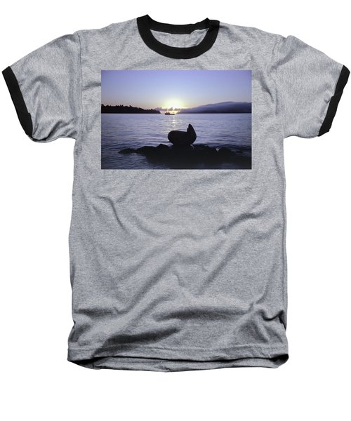 Baseball T-Shirt featuring the photograph Sausalito Morning by Frank DiMarco