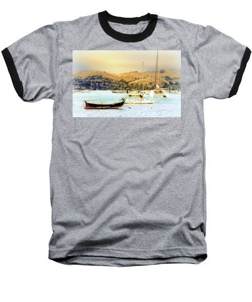 Sausalito Sailboats Baseball T-Shirt
