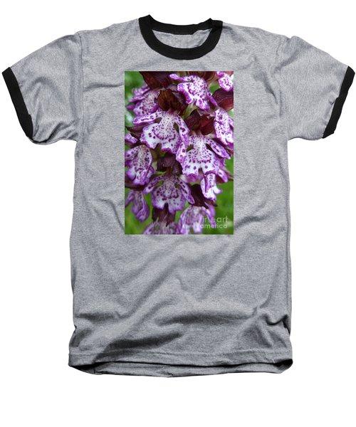 Savage Orchid 2 Baseball T-Shirt by Jean Bernard Roussilhe