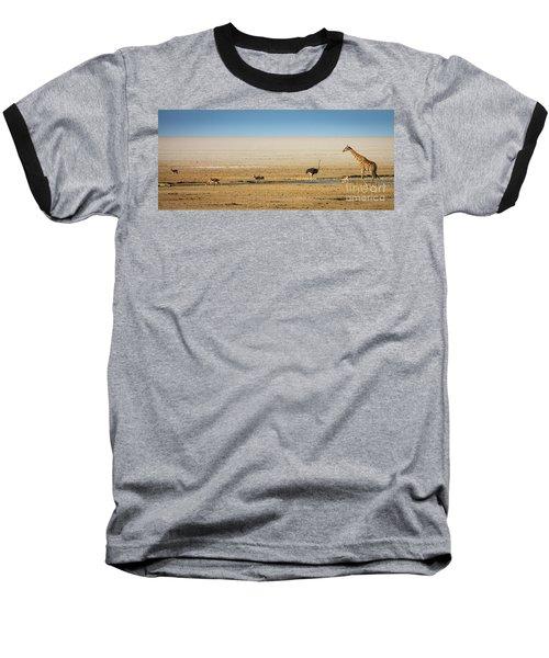 Savanna Life Baseball T-Shirt by Inge Johnsson