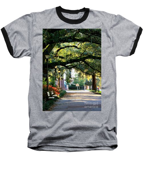Savannah Park Sidewalk Baseball T-Shirt