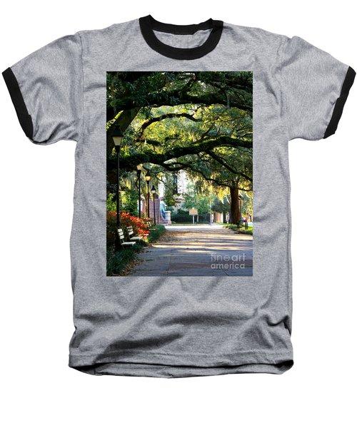 Savannah Park Sidewalk Baseball T-Shirt