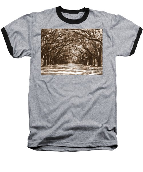 Savannah Sepia - Glorious Oaks Baseball T-Shirt