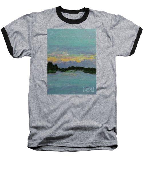 Savannah Sunrise Baseball T-Shirt by Gail Kent