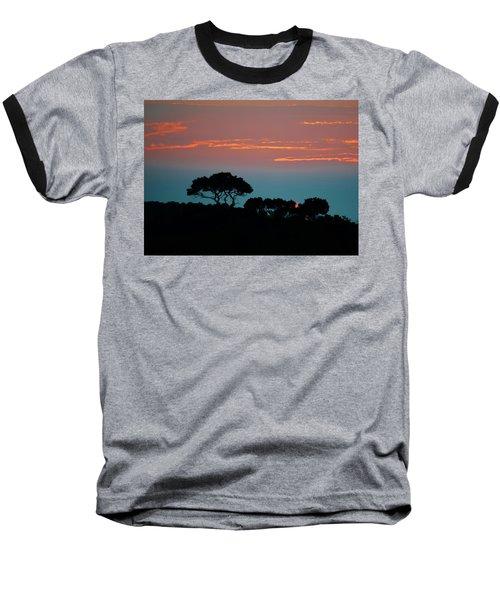 Savannah Sunset Baseball T-Shirt by William Bartholomew