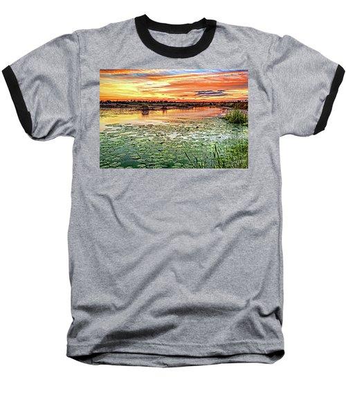 Savannas Sunset Baseball T-Shirt